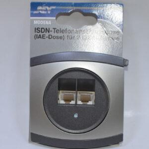 Modena ISDN IAE Dose Netzwerkdose