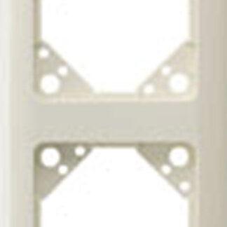 Düwi Everluxe 4-fach Rahmen cremeweiss