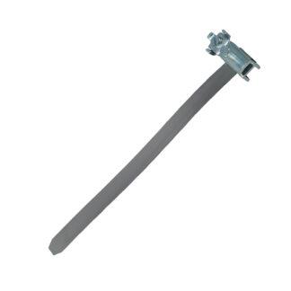 Kopp Erdungsbandschelle mit Anschlussklemme 3/8 bis 11/2 Zoll