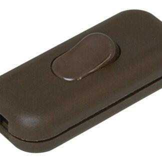 Kopp Schnurschalter 2A 1-polig braun