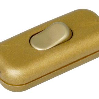 Kopp Schnurschalter 2A 1-polig gold