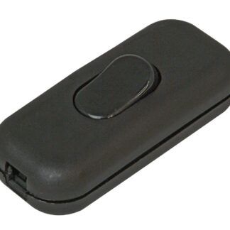 Kopp Schnurschalter 2A 1-polig schwarz