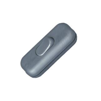 Kopp Schnurschalter 2A 1-polig silber