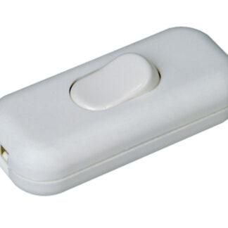 Kopp Schnurschalter 2A 1-polig weiß