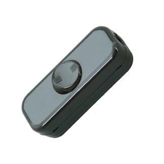 Kopp Schnurschalter 10A - 2polig - schwarz
