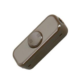Kopp Schnurschalter 10A - 2polig - braun