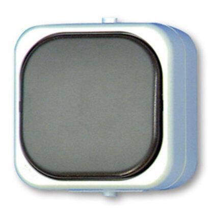 AquaTop Aufputz Kreuzschalter IP 44 grau