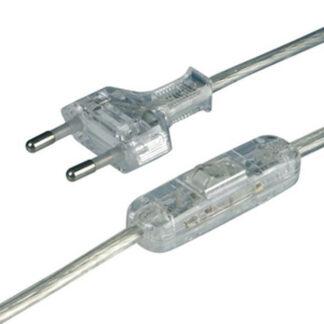 kabel mit Schalter transparent