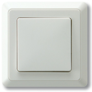 Düwi REV PrimaLuxe Aus-/Wechselschalter inklusive Rahmen