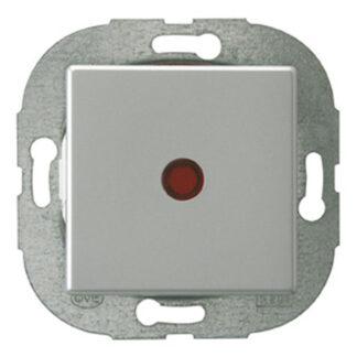 REV Standard Quadro Kontrollschalter silber