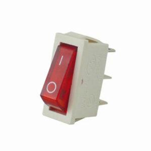 REV Einbau-Wippschalter, beleuchtet, weiß