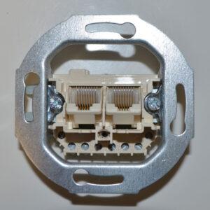 ISDN Telefonanschlussdose , IAE-Dose für 2 ISDN-Geräte