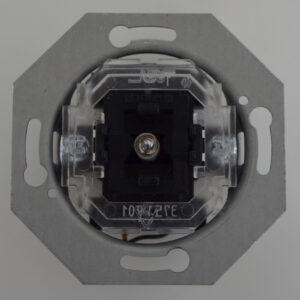 Modena Kontroll-Wechselschalter Sockel inkl. Glimmlampe , Ersatz Sockel