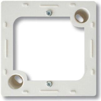 Düwi REV Standard Quadro Gehäuse Aufputz 1 fach , alpinweiß