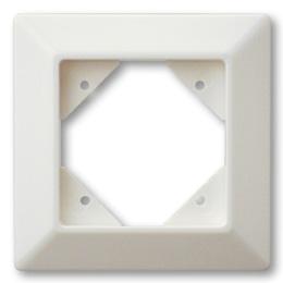 Düwi REV Standard Quadro 1-fach Rahmen , alpinweiß