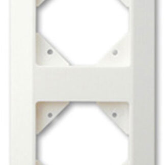Düwi REV Standard Quadro 2-fach Rahmen , alpinweiß