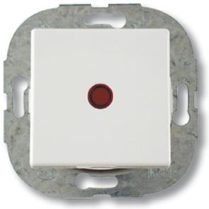 Düwi REV Standard Quadro Kontroll- Aus-/Wechselschalter , alpinweiß