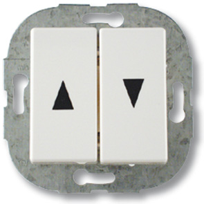 Düwi REV Standard Quadro Jalousieschalter , alpinweiß