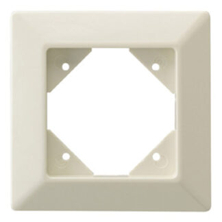 Düwi REV Standard Quadro 1 fach Rahmen , cremeweiß