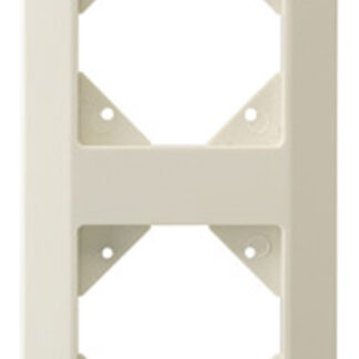 Düwi REV Standard Quadro 2 fach Rahmen creme weiß