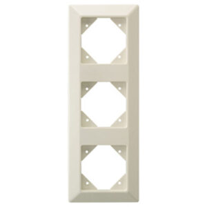 Düwi REV Standard Quadro 3 fach Rahmen , creme weiß