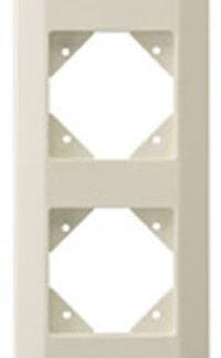 Düwi REV Standard Quadro 4 fach Rahmen , cremeweiss