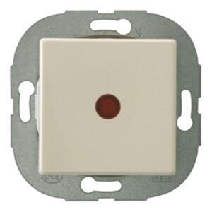 Düwi REV Standard Quadro Kontrollschalter , cremeweiß