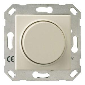 Düwi REV Standard Quadro Dimmer für elektronische Trafos , cremeweiß