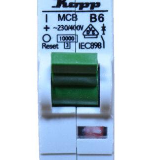 Kopp Leitungsschutzschalter - B6 A 1polig