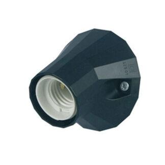 REV Leuchten Lampen Iso Wand- und Deckenfassung E27 / 100W schwarz