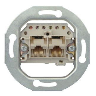 Kopp UAE-Anschlußdose 2 parallele 2x 8 (8) polig Unterputz ISDN-fähig