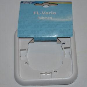 Düwi REV Ritter FL-Vario 1-fach Rahmen Abdeckrahmen weiß