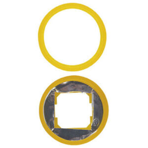 REV Radius Farbringe beleuchtbar, gelb, 2 Stück