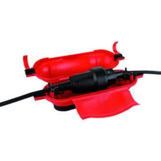 REV Safebox Sicherheitsbox für Verlängerungskabel , rot
