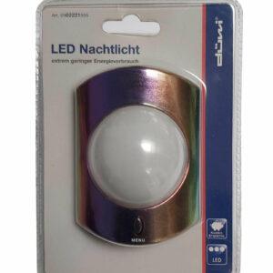 Düwi REV LED Nachtlicht mit Menüschalter Einfarbig - Farbwechsel - Aus , 1 Watt