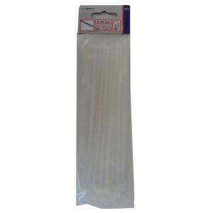 Düwi REV Profi Kabelbinder 368 x 4,8 mm , weiß, 25 Stück