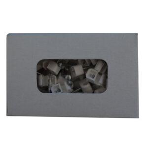 REV Ritter Nagelschellen Express Schelle 4 -7 mm , 200 Stück weiß
