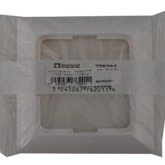 Legrand Creo 776201 , 1-fach Rahmen ultraweiß