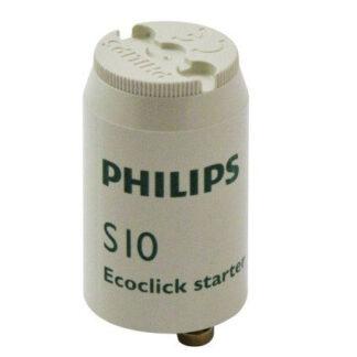 Philips Starter S10 Ecoclick Starter für Leuchtstofflampen Starter 4-65W