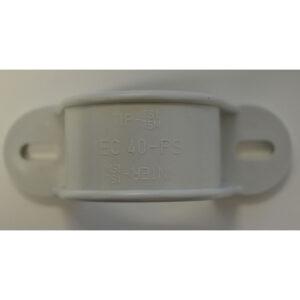 10 Stück PipeLife Rohrschellen Halbschale, Schellen 2-lappig EN 40 IEC 40-PS
