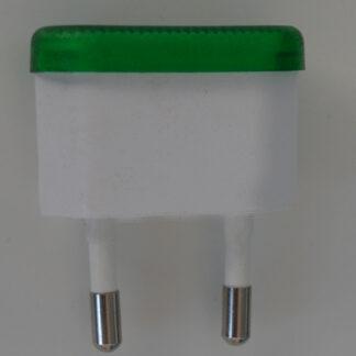 Kopp Euro Orientierungslicht, 230V~, 0,5W, grün leuchtend