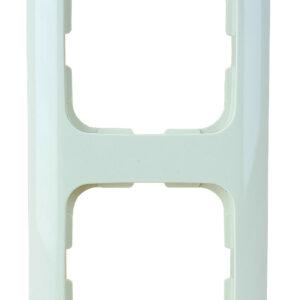 KLEIN-SI® 2-fach Rahmen , cremeweiß , weiß
