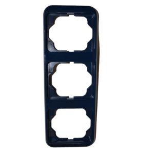Busch Jäger alpha nea 3-fach Rahmen senkrecht , blau