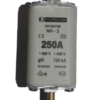Protect Class NH2 Sicherung 250A 500V gG120KA 05100708