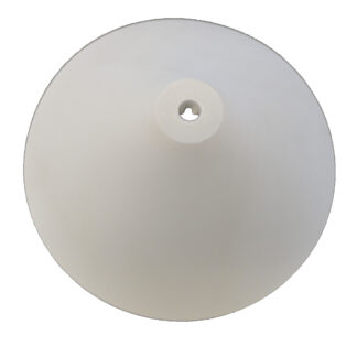 REV Baldachin, Kunststoff, konisch ca. 110mm , weiß