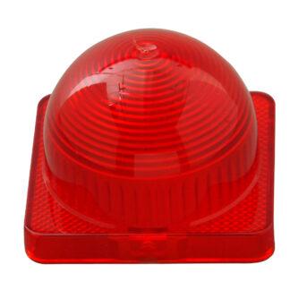 Kopp BLUE ELECTRIC Kuppelhaube für Lichtsignal E14 , Farbe: rot