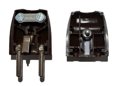 40542L Inter Union Stecker Schutzkontaktstecker braun