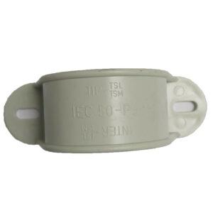 PipeLife Rohrschellen Halbschale, Schellen 2-lappig EN 50