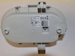 REV Kellerlampe Ovalarmatur , Fassung E27, inklusive Osram
