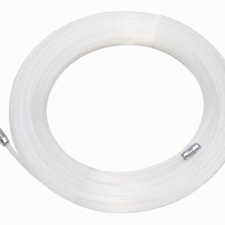 Kopp Einziehspirale, Länge 10 Meter, Stärke 3mm, Nylon, transparent